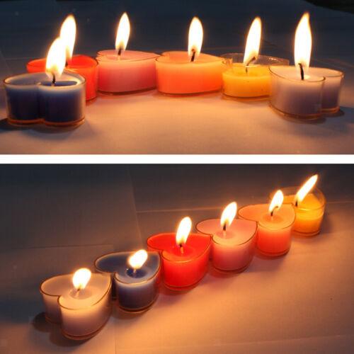 20x Herz Schmetterling Klar Teelicht Tasse Kerzenform Für Hochzeit Kirche