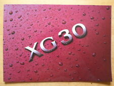 HYUNDAI XG30 Luxury Saloon 2000 2001 UK Mkt glossy sales brochure
