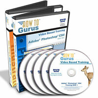 Adobe Photoshop Cs4 And Illustrator Cs4 Tutorial Training 39 Hrs On 5 Dvds