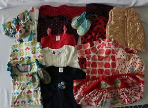 LOT-17-Pcs-Baby-Girl-0-6-12m-Clothes-OOBI-SEED-TINY-TRIBE-GAIA-FRED-BARE-SOOKI