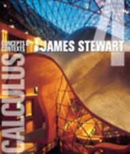 Calculus : Concepts and Contexts by James Stewart  4th Edition (Hardcover) _ NEW