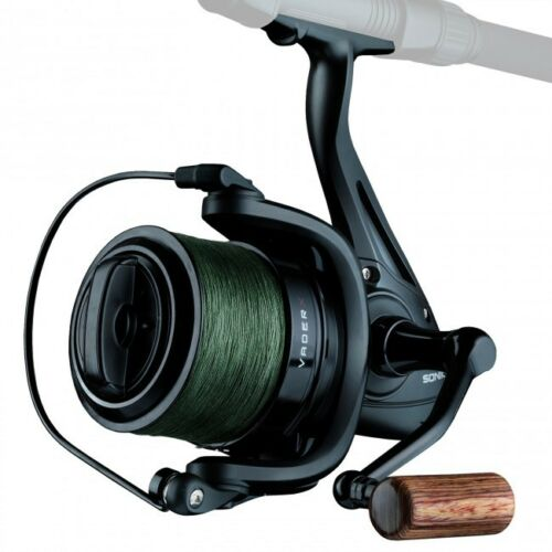 Sonik-Vader-X-Spod-or-Marker-Reel-With-200m-30lb-Braid-NEW-Carp-Fishing-SVX8000