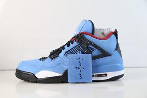 46638827e87 Details about Air Jordan Retro 4 Cactus Jack Travis Scott University Blue  Red 308497-406 8-14