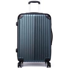 6da539853 Hard shell Trolley Suitcase 4 Wheel Spinner Lightweight Luggage Travel Case