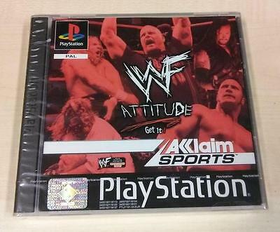 WWF Attitude PS1 PSX ✰✰✰NEU & OVP✰✰✰