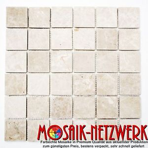 Mosaik-Botticino-antique-Marble-Fliesenspiegel-Kueche-Art-36-0106-10-Matten