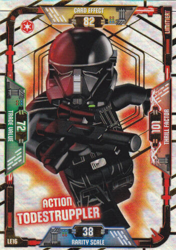 Lego Star Wars Trading Card Game-le16 Action todestruppler