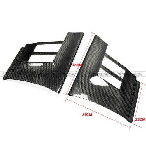 Carbon Fiber For Toyota Subaru BRZ FT86 GT86 FRS Front Flow Vent Fender Corner