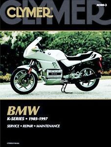 CLYMER SERVICE MANUAL BMW K75 1989-95, K75T 1986-1987, K75S 1987-88 ...