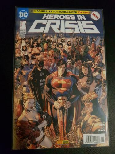 Alle Varianten Heroes In Crisis 1 4 2 3