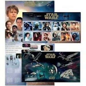 2015 Star Wars Royal Mail Presentation Pack Mint Condition