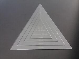 acrylic bunting flag template set pentagon hexagon octagon