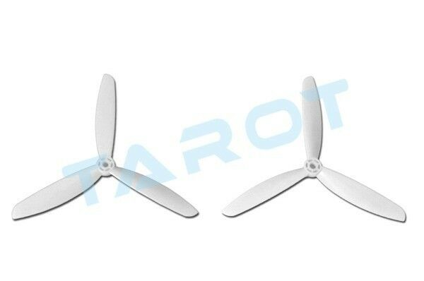 Tarot 7 inch 3-Blade Propeller Blade CW CCW White for 300 350 Mini Quadcopter
