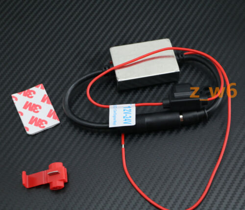 12V Car Stereo Radio FM AM Inline Antenna Radio Booster Signal Amp Amplifier