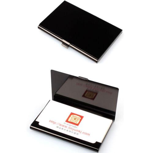 Aluminum Alloy Pocket Box Business Name Credit ID Card Holder Box Metal Case