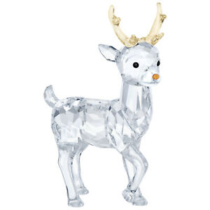 Swarovski-Crystal-Creation-5400072-Santa-039-s-Reindeer-RRP-129