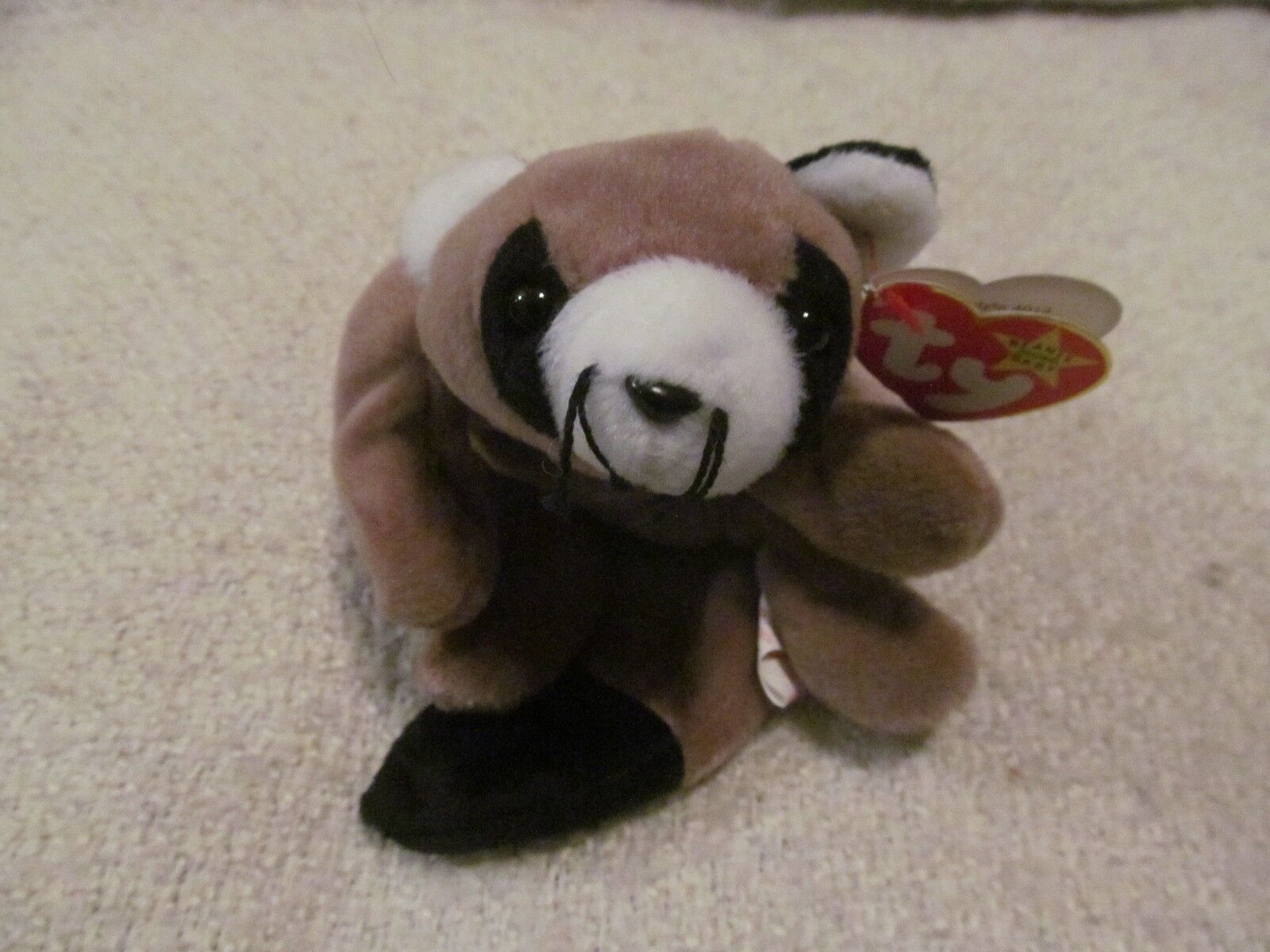 TY BEANIE BABIES - RINGO -RETIRED-WITH TAG ERRORS-GREAT CONDITION