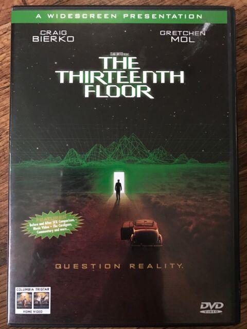 Thirteenth Floor 1999 Sci-fi 13th