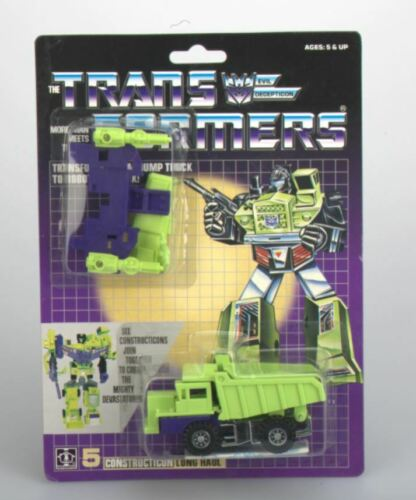 TRANSFORMERS G1 Reissue Carded Devastator Brand New  Toy Action Shipping free