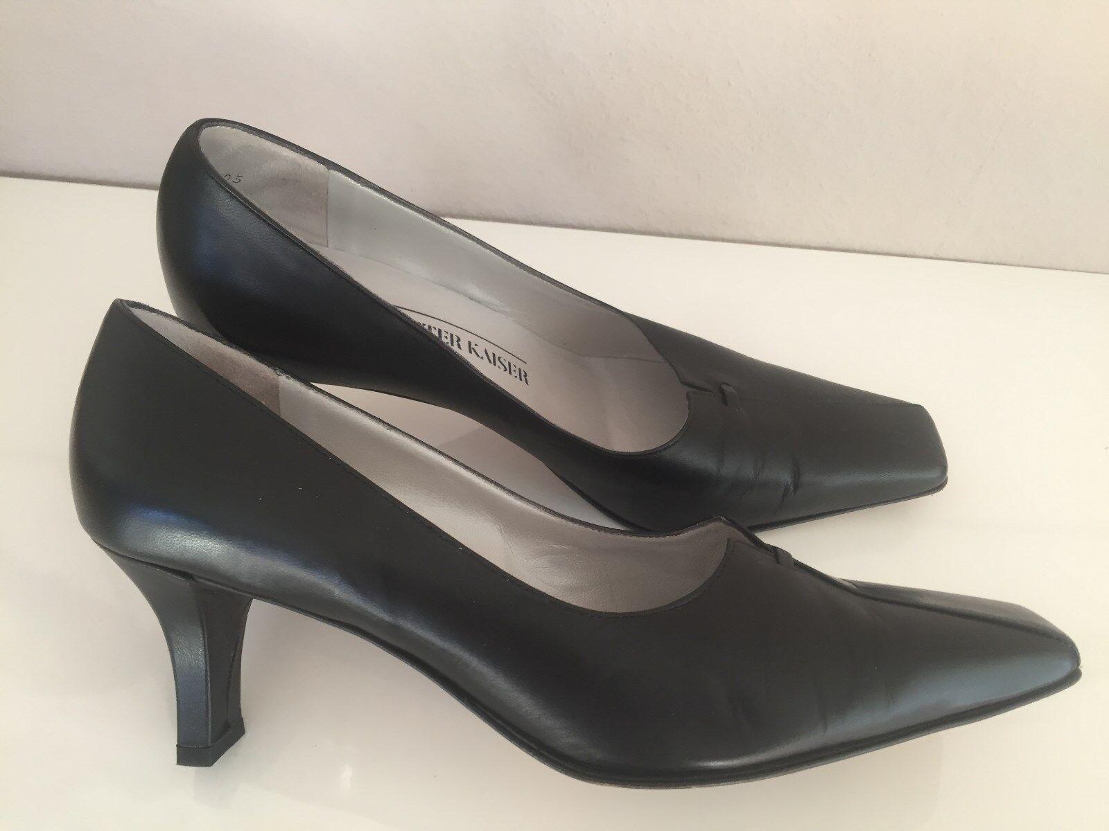 PETER KAISER Pumps Pumps Pumps schwarz Gr. 38 Echtleder sehr elegante Schuhe 32d45e