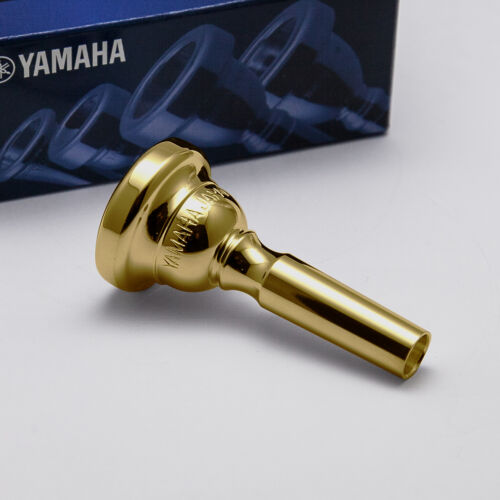 Ships Fast! Genuine Yamaha 24K Gold Cornet Mouthpiece 14E Short Shank NEW