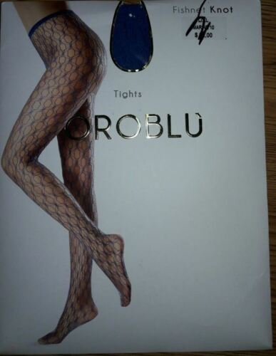 NEW Oroblu Fishnet Knot Tights Pantyhose Size L//XL Choose Color