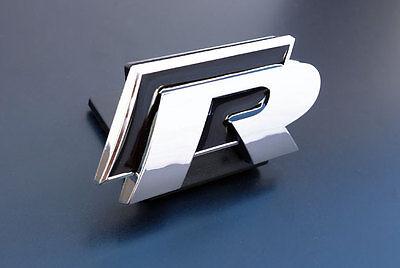 VW Golf Jetta MK1 MK2 MK3 MK4 MK5 MK6 RLine R Line Grill Badge Emblem GTI Black