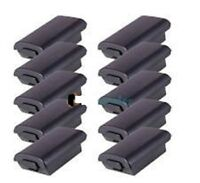 10 X Black Battery Pack Shell Cover For Xbox 360 Wireless Controller