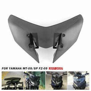 For Yamaha MT-09//FZ-09 2017 2018 2019 Windshield Windscreen Pare-brise Smoke