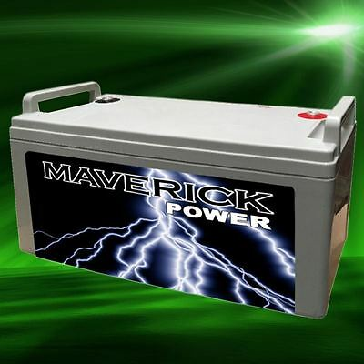 160A 12v BATTERY AGM DEEP CYCLE CHARGE SEALED OFF GRID POWER SOLAR CAMP CARAVAN