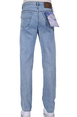 Men Eagle blue jeans Classic, Straight Leg Light blue 100% Cotton 32 33 36 38 42
