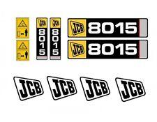 Sticker complete - MINI DIGGER JCB 8014, 8015, 8016, 8017, 8018 in 24h