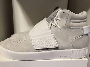 Nuevo adidas tubular invasor Correa Yeezy Kayne West Suede Sneakers