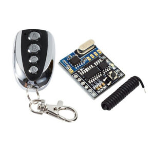 DC-5V-4-Channels-RF-Relay-Wireless-Remote-Control-Light-Switch-Receiver