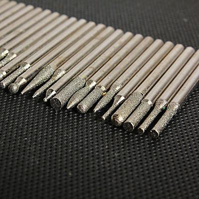 4x Schleifstifte Fräser Schleifen 13 mm Stein für Dremel Proxxon Schleifer D59