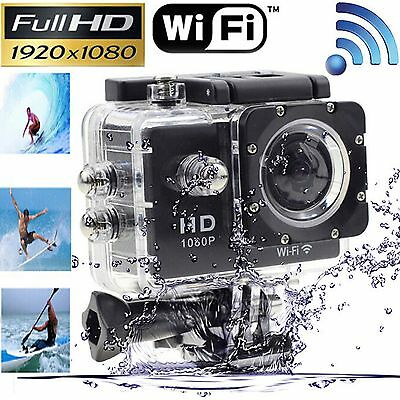 Wireless WIFI SJ4000 Waterproof Sports DV 1080P HD Video Action Camera Camcorder
