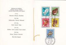 Switzerland 1966 Pro Juvente Set in booklet FDC