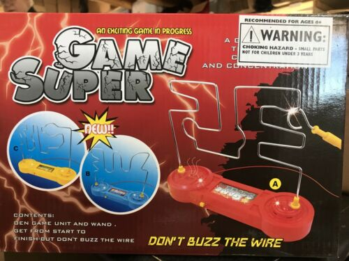 Bits and Pieces-Don/'t Buzz The Wire Game-A Test Of Concentration Coordination
