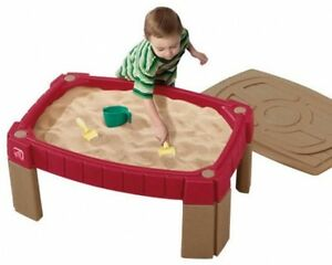 Charmant Image Is Loading Outdoor Garden Sand Table Sandpit With Cover Lid