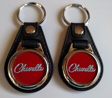 CHEVELLE Keychain 2 pack Classic car logo