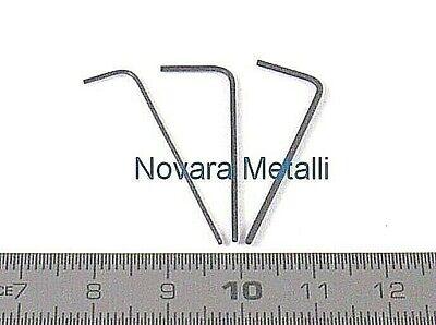 Serie di chiavi brugola maschio esagonali serie A3107//35 con 9pz A 3107 3509 ABC