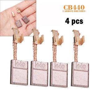 4x Carbon Brush For Makita CB-440 BHP458 18V Impact Driver//Hammer Drill Brushe