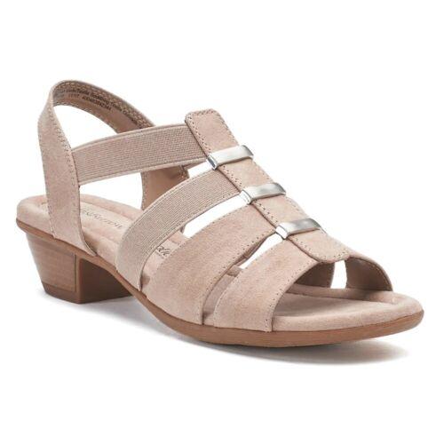 NWB Croft /& Barrow Gwendolen Women/'s Sandals 4 Colors Many SIzes FAST SHIPPING