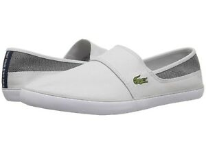 9ea859fbfdc2c Lacoste Marice 318 1 Men s Casual Canvas Slip on Loafer Shoes ...