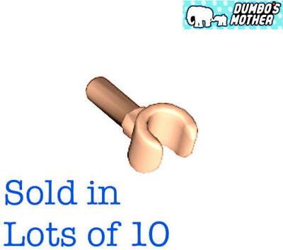 LEGO 10 Black hands torso Minifig parts 10 hands equals 5 pair NEW