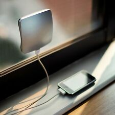 2400mAh XD Window Mounted Solar Charger Power Bank with Sucker for Mobile phone
