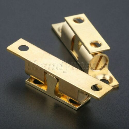 Dual Ball Touch Catch Cupboard Drawer Cabinet Door Latch Clip Lock Hardware Hot