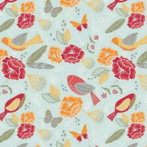 100/% tissu de coton Sweet Bee DESIGNS BUTTERFLIES Birds /& Beautiful floral