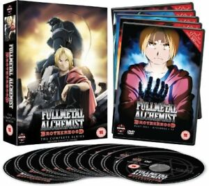 Fullmetal Alchemist Brotherhood Complete Series Collection ...