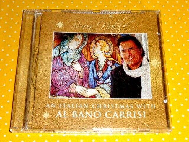 AN ITALIAN CHRISTMAS WITH AL BANO CARRISI  -  BUON NATALE  -  CD IN OTTIMO STATO